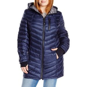 Halifax Traders quilted lightweight down jacket
